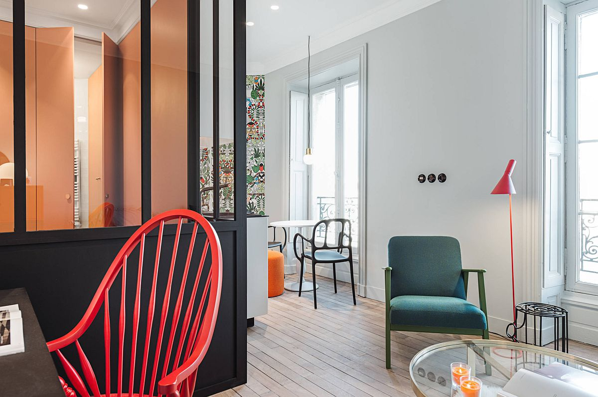 adelaparvu.com despre renovare apartament 35 mp, Nantes, designer Pierre-Edouard Milochau, Foto Decodheure, Caroline Morin (4)