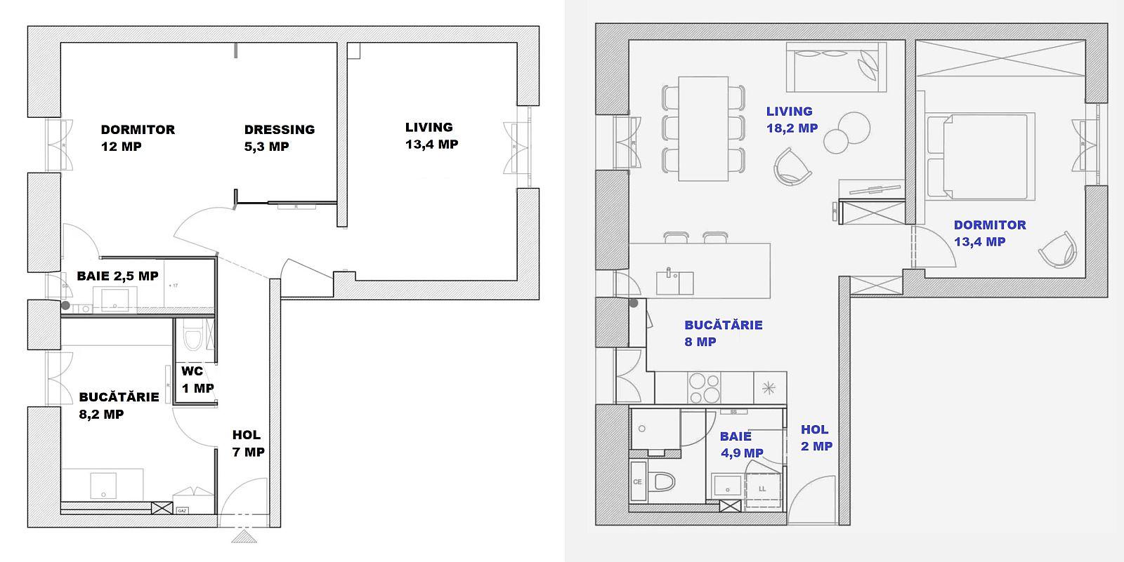 adelaparvu.com despre renovare apartament 52 mp, designer Anouck Charbonnier, Foto Sabine Serrad (14)