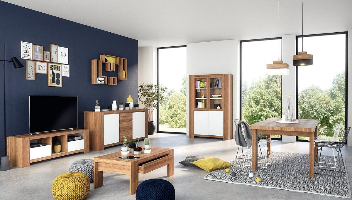 Gama Campton include piese pentru living și sufragerie. Vezi număr piese, dimensiuni, preț AICI.