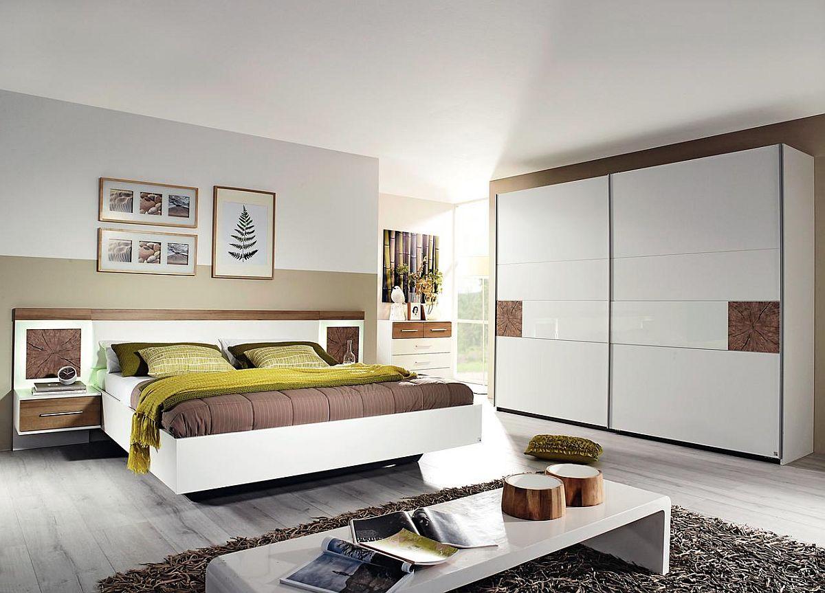"Dormitor ""Kirchberg"". Reducere: 35%. Dulap ""Kirchberg"". Preț nou: 899,-Ron. Preț vechi: 1.399,- Ron. Fabricat în Germania."