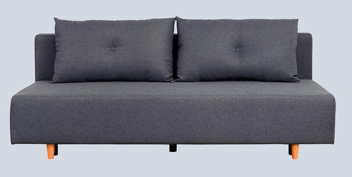 """Canapea extensibilă """"Otta"""". Pret nou: 999,- Ron. Pret vechi: 1.999,- Ron. Reducere: 50% Include funcție pat și ladă depozitare. Disponibilă în două variante de culoare."""