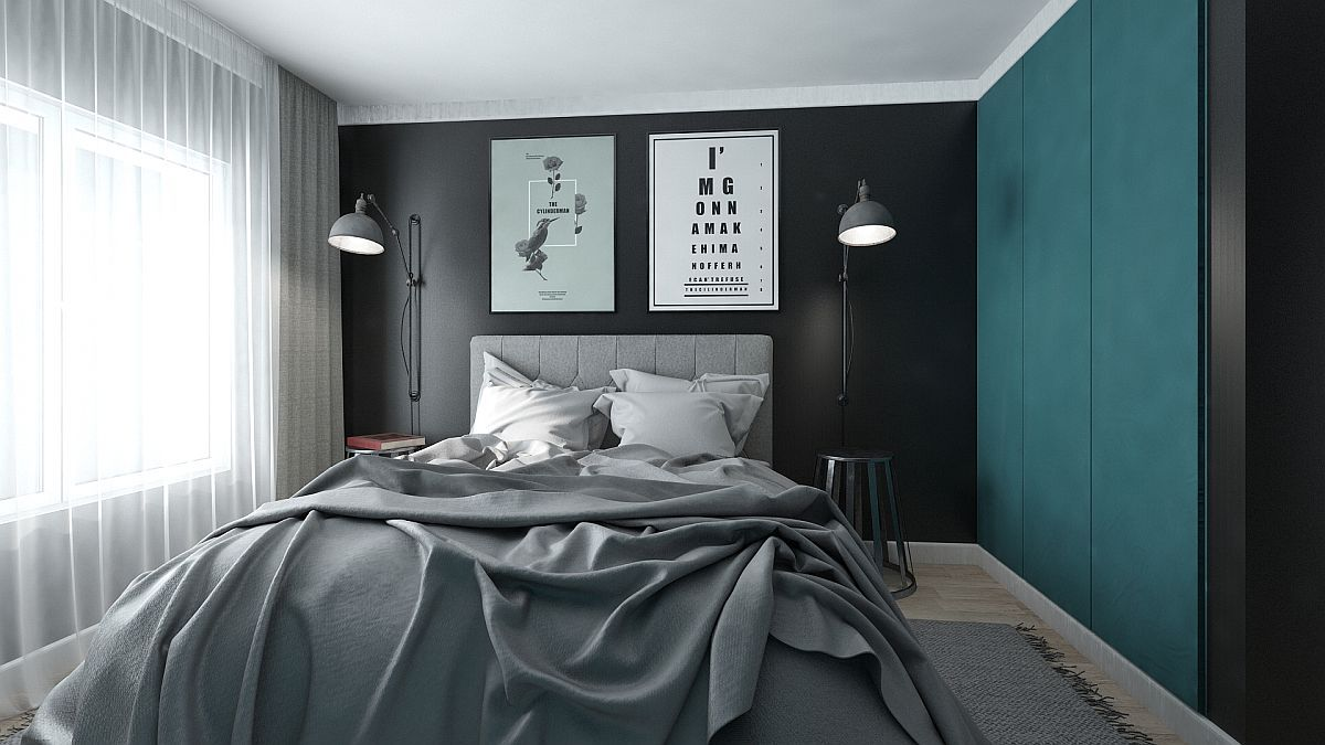 adelaparvu.com despre amenajare apartament 2 camere AFI CITY, 50 mp, design Alderamin Studio (1)