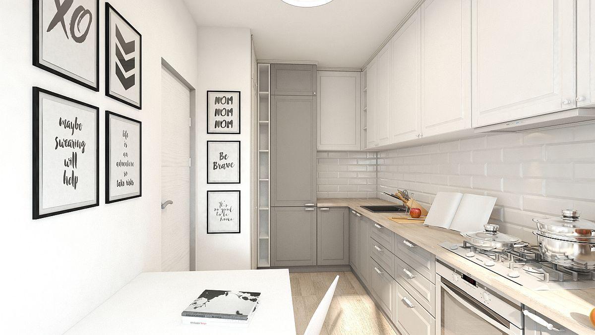 adelaparvu.com despre amenajare apartament 2 camere AFI CITY, design Alderamin Studio (3)