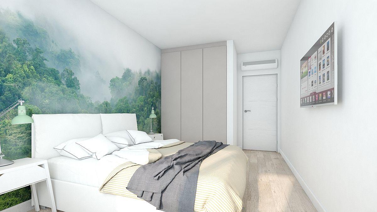 adelaparvu.com despre amenajare apartament 2 camere AFI CITY, design Alderamin Studio (5)
