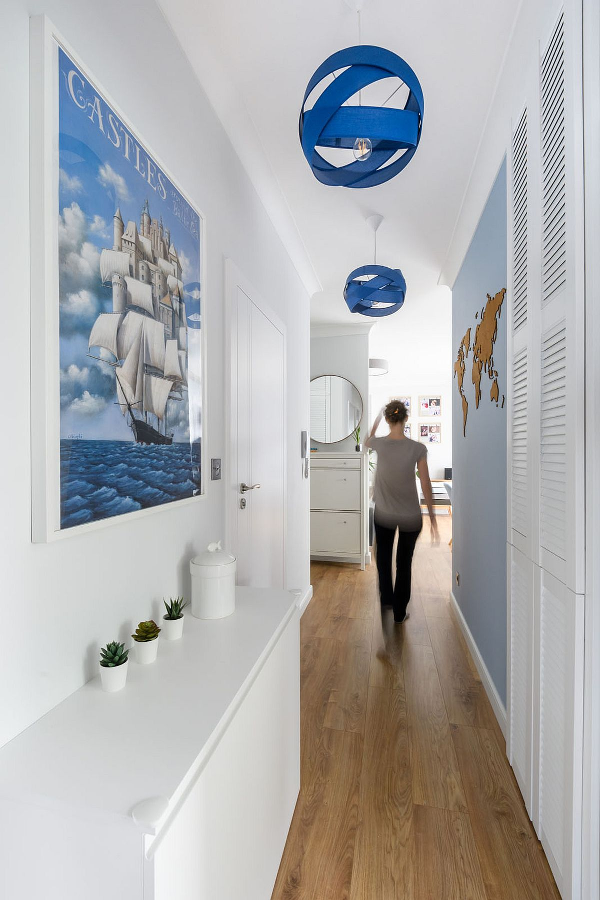 adelaparvu.com despre amenajare apartament 65 mp, design Marta Jaslan, Foto Dariusz Majgier (5)