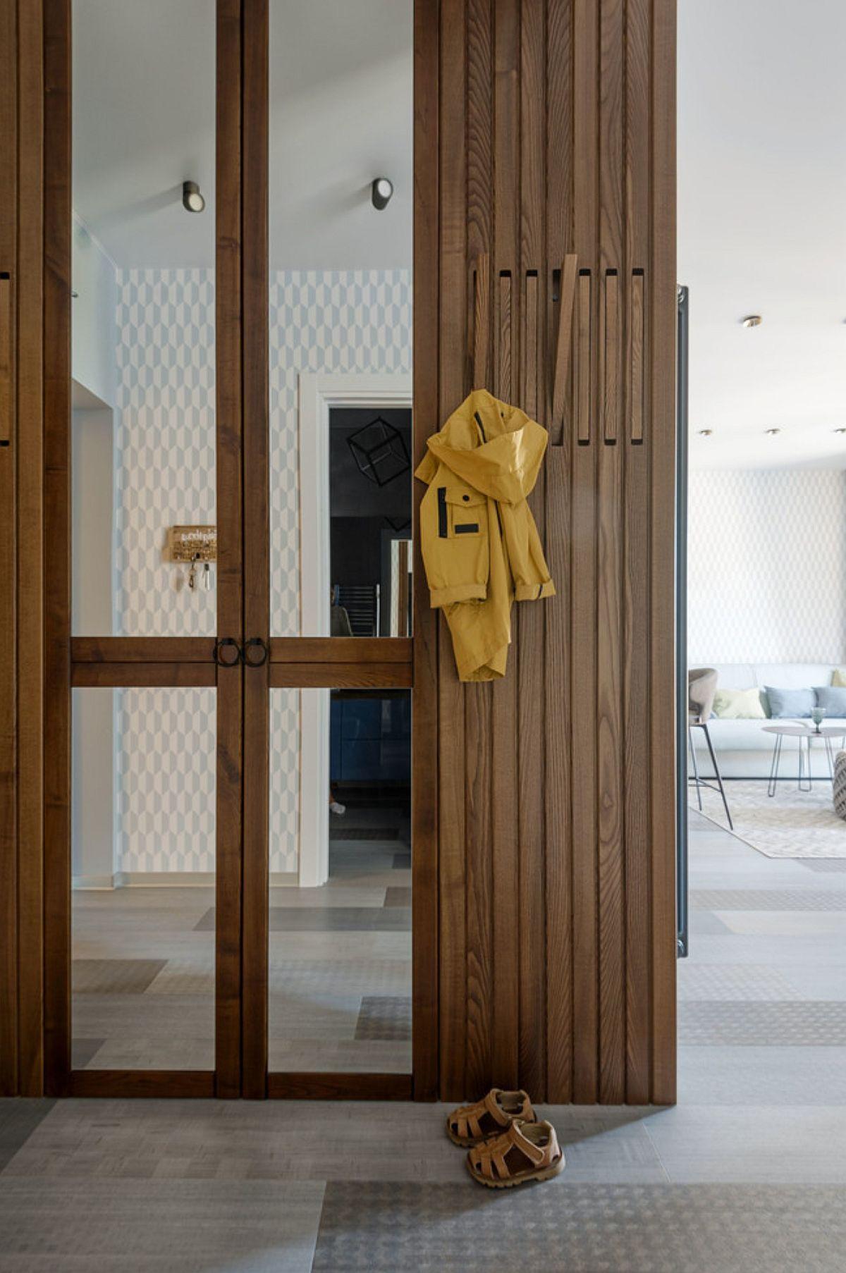 adelaparvu.com despre amenajare in stil marin apartament 47 mp, design Nika Lazareva, Foto Denis Kichatov (12)