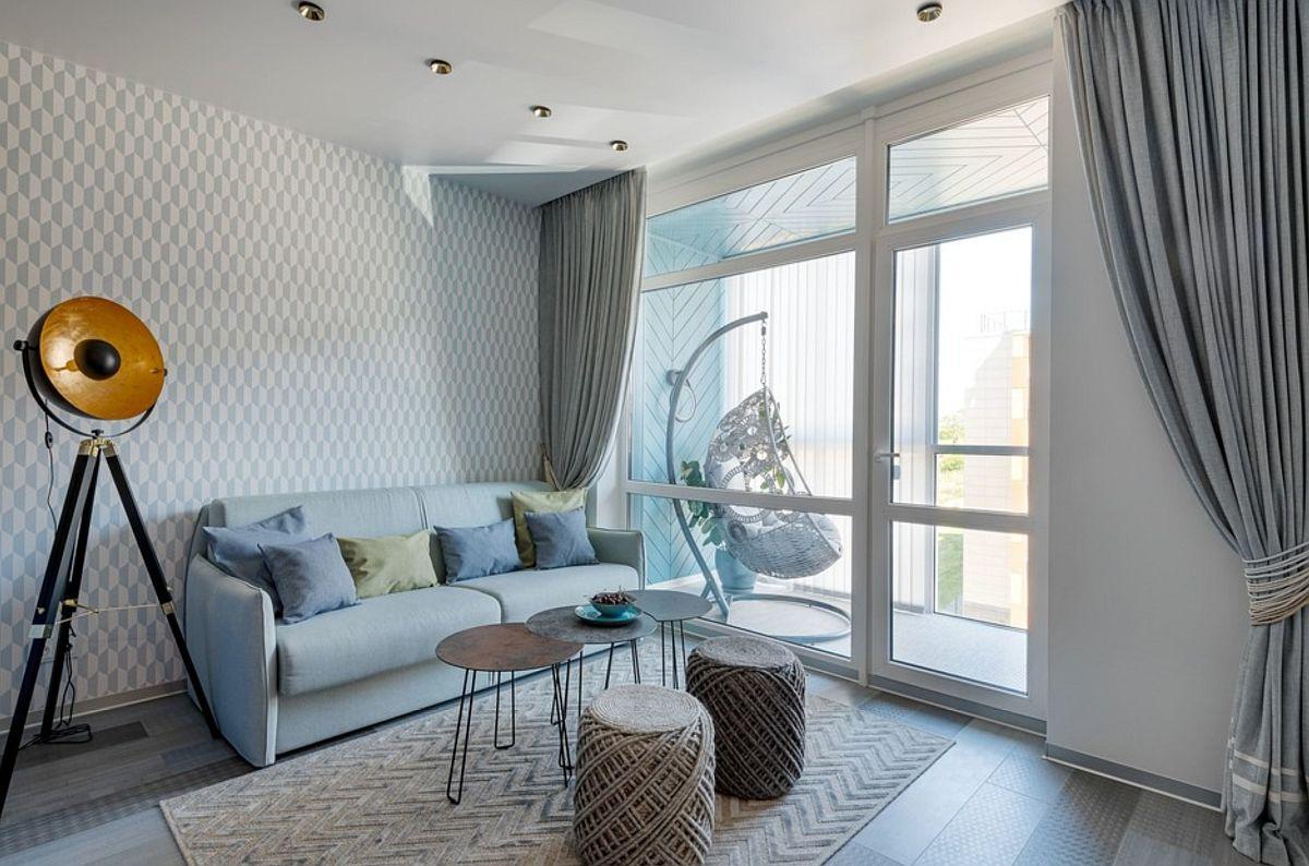 adelaparvu.com despre amenajare in stil marin apartament 47 mp, design Nika Lazareva, Foto Denis Kichatov (2)