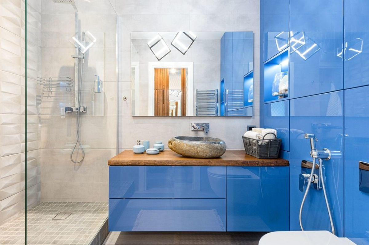 adelaparvu.com despre amenajare in stil marin apartament 47 mp, design Nika Lazareva, Foto Denis Kichatov (8)