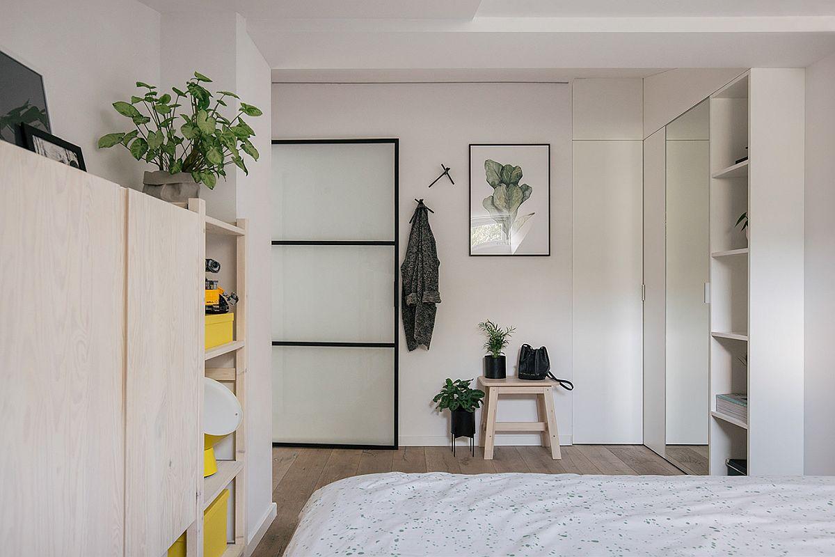 adelaparvu.com despre apartament mic in pod, design Joanna Piorko, Foto Kroniki Studio (1)
