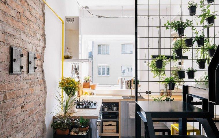 adelaparvu.com despre apartament mic in pod, design Joanna Piorko, Foto Kroniki Studio (14)
