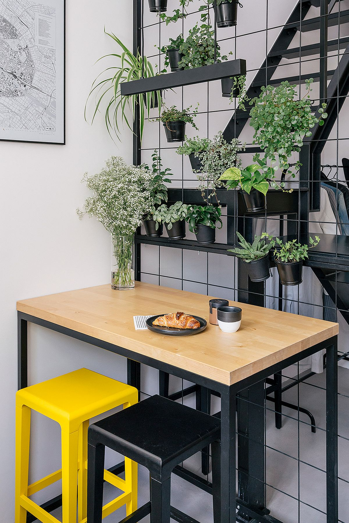 adelaparvu.com despre apartament mic in pod, design Joanna Piorko, Foto Kroniki Studio (2)