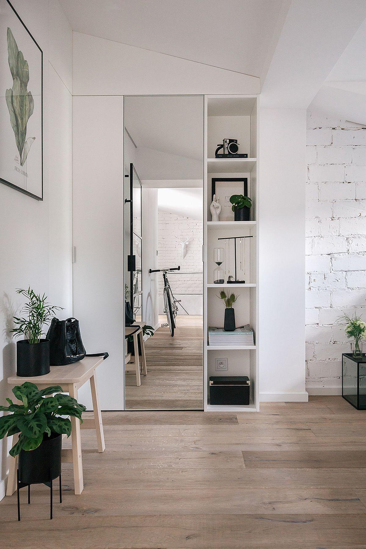 adelaparvu.com despre apartament mic in pod, design Joanna Piorko, Foto Kroniki Studio (6)