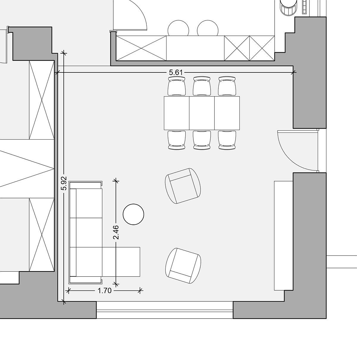 adelaparvu.com despre canapeaua potrivita in functie de spatiu, canapea coltar