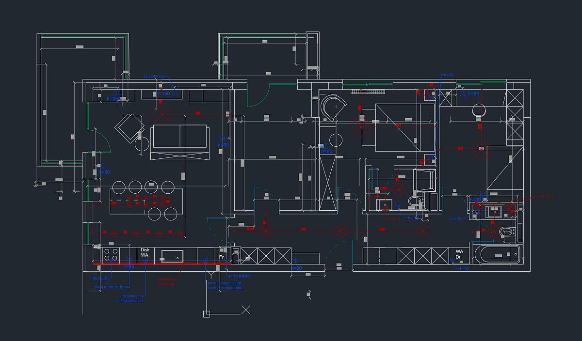adelaparvu.com despre instalatia electrica sigura, proiect Alderamin Studio (3)