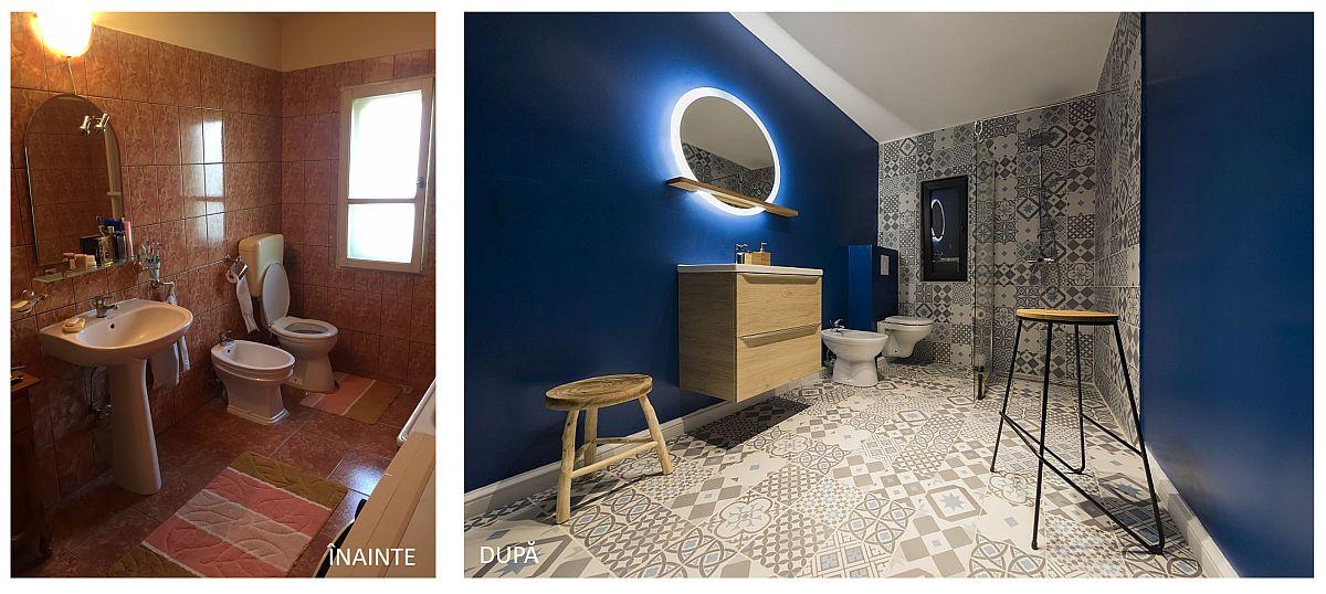 Toate camerele de baie au fost refăcute în totalitate. În plus, s-au mai amenajat băi pentru ca fiecare cameră să beneficieze de acces la propria încăpere destinată igienei.