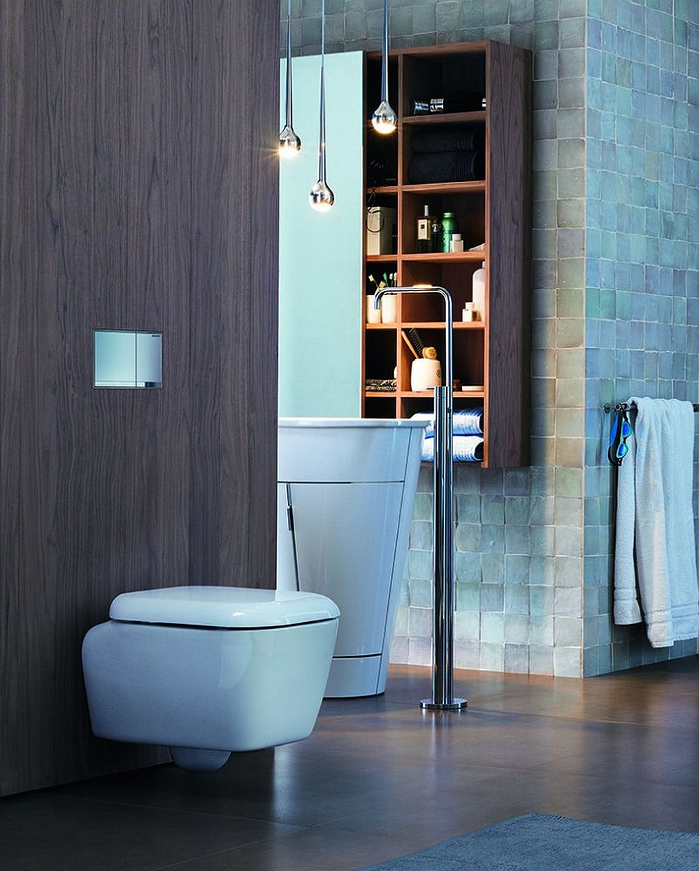adelaparvu.com about odor filtration system in bathrooms without the Geberit DuoFresh window (3)
