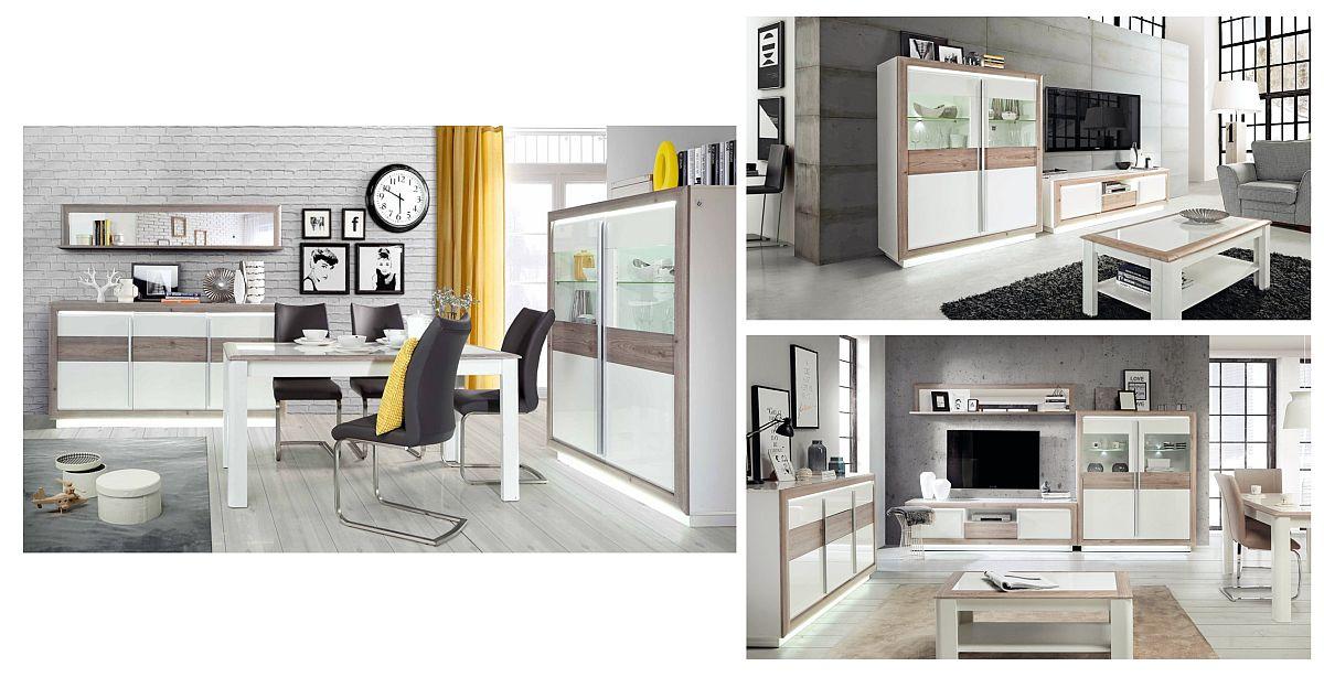 Gama Canne include atât mobilă pentru living, cât și pentru sufragerie. Vezi detalii de dimensiuni, materiale preț AICI.