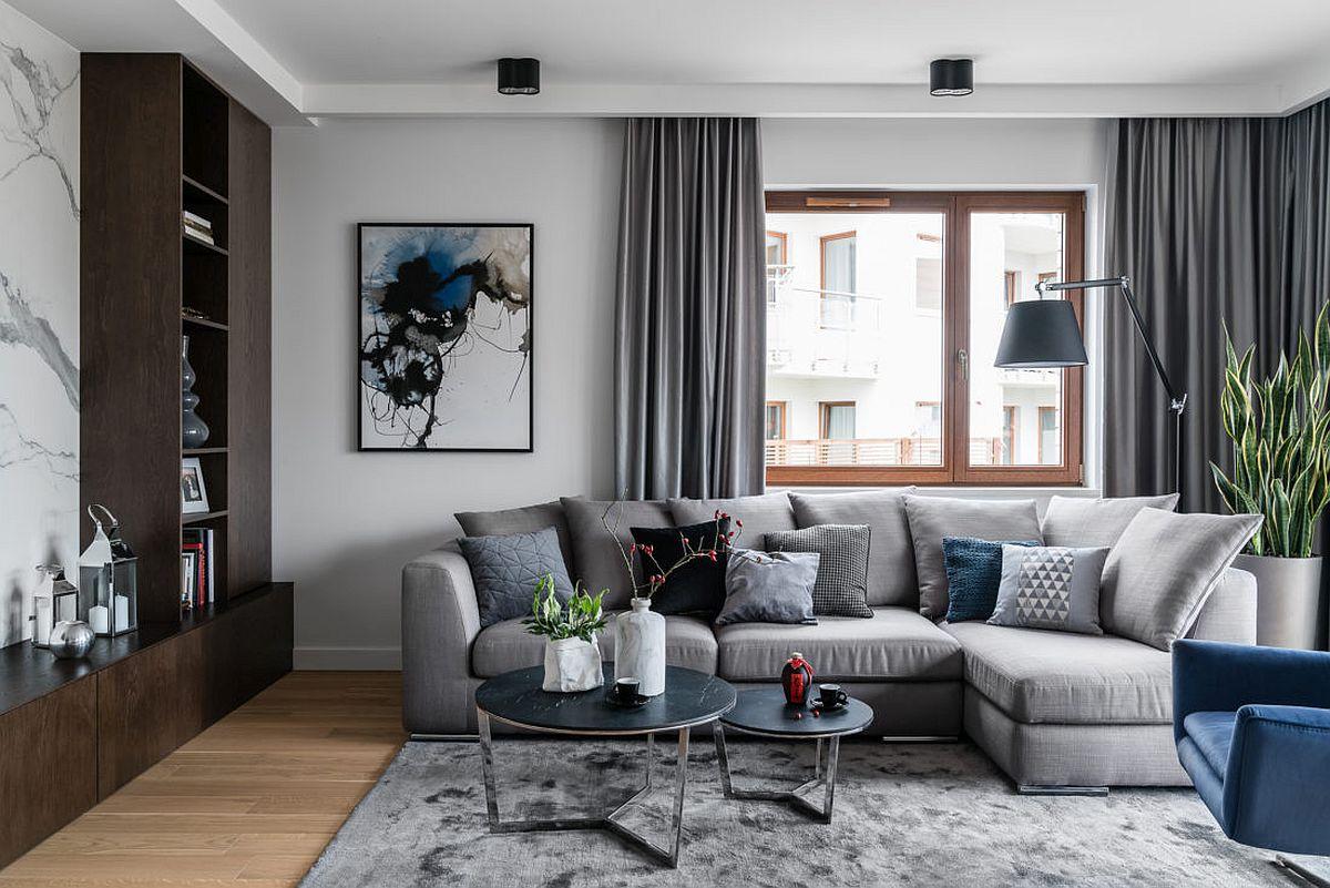 adelaparvu.com despre amenajare moderna apartament 92 mp, design Anna Serafin, Foto Fotomohito (11)