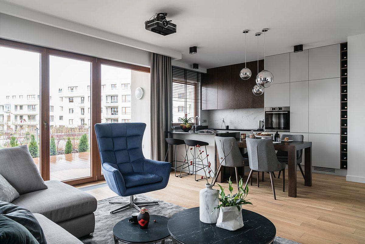 adelaparvu.com despre amenajare moderna apartament 92 mp, design Anna Serafin, Foto Fotomohito (15)