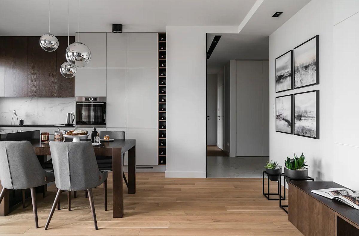 adelaparvu.com despre amenajare moderna apartament 92 mp, design Anna Serafin, Foto Fotomohito (3)