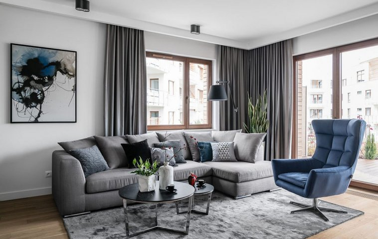 adelaparvu.com despre amenajare moderna apartament 92 mp, design Anna Serafin, Foto Fotomohito (9)