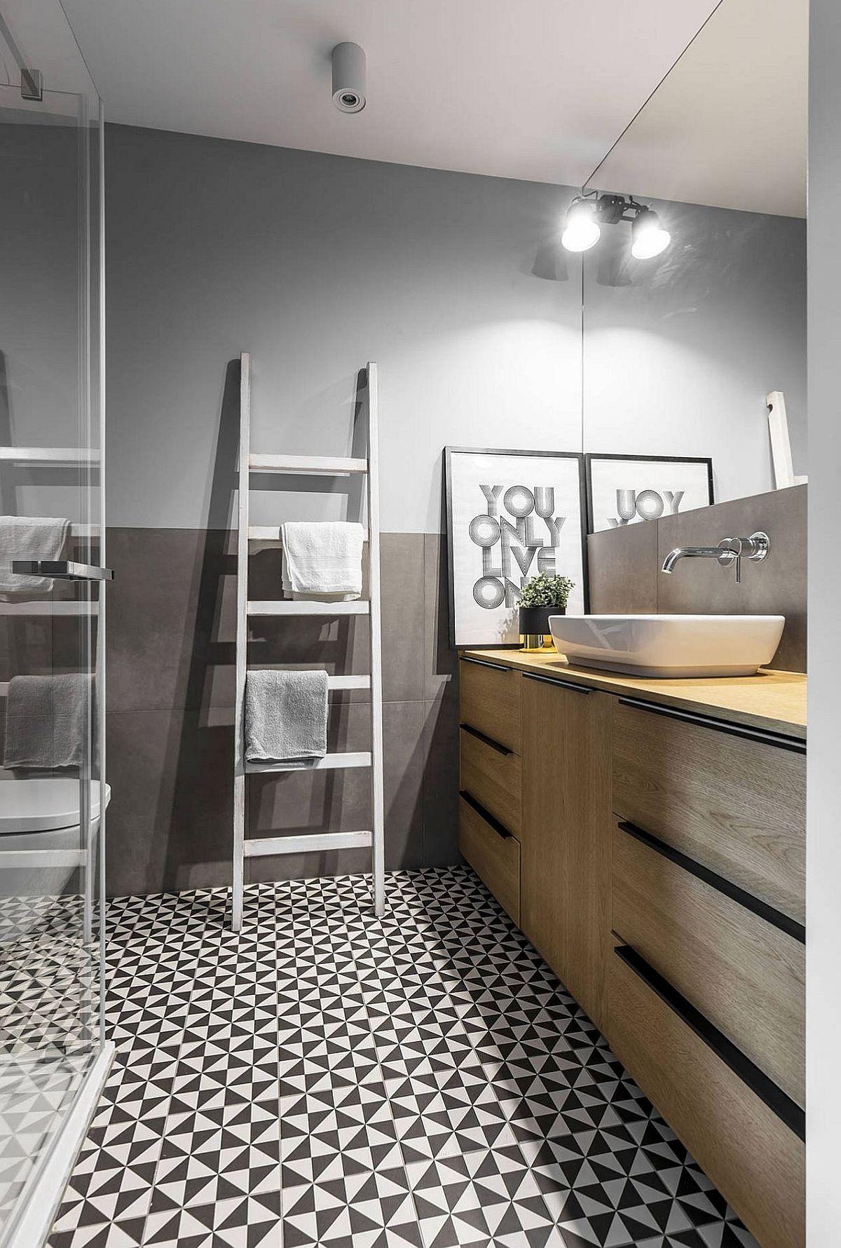 adelaparvu.com despre apartament 56 mp cu accente de rosu, design SAS Wnetrza i Kuchnie, Foto Strazynski Studio (13)