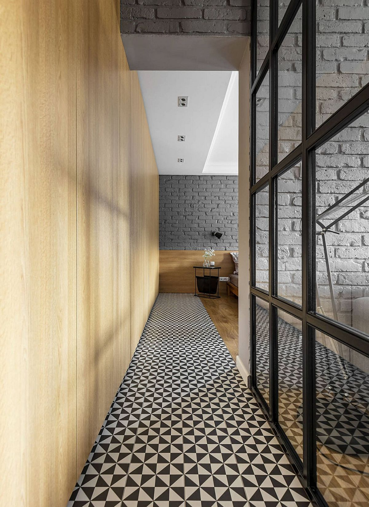 adelaparvu.com despre apartament 56 mp cu accente de rosu, design SAS Wnetrza i Kuchnie, Foto Strazynski Studio (14)