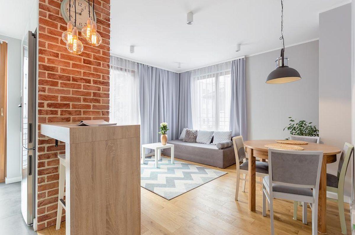 adelaparvu.com despre apartament de 2 camere luminos amenajat, design Kameleon, Foto Michal Mlynarczyk (1)