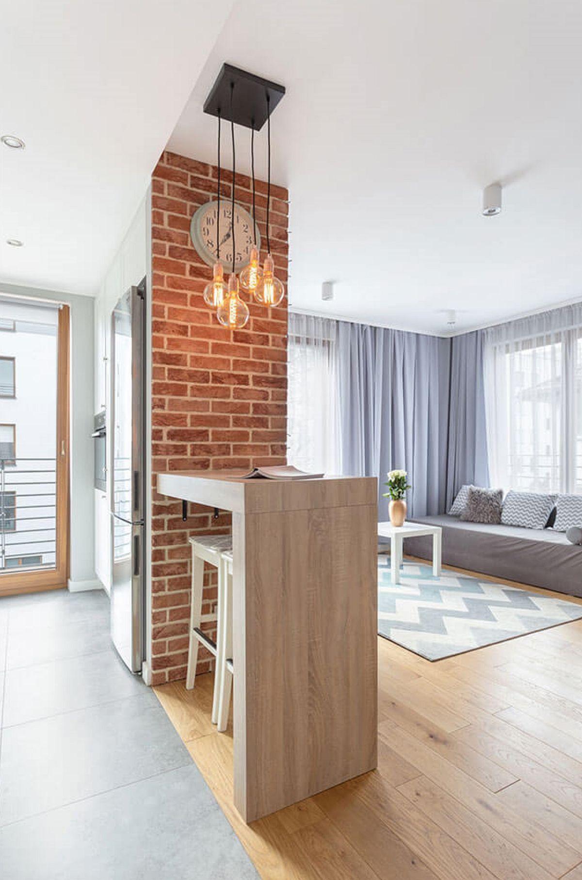 adelaparvu.com despre apartament de 2 camere luminos amenajat, design Kameleon, Foto Michal Mlynarczyk (2)