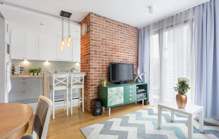 adelaparvu.com despre apartament de 2 camere luminos amenajat, design Kameleon, Foto Michal Mlynarczyk (5)