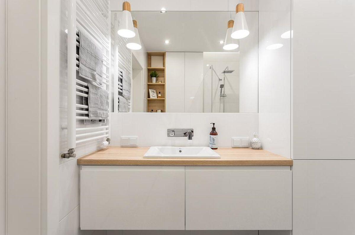 adelaparvu.com despre apartament de 2 camere luminos amenajat, design Kameleon, Foto Michal Mlynarczyk (9)