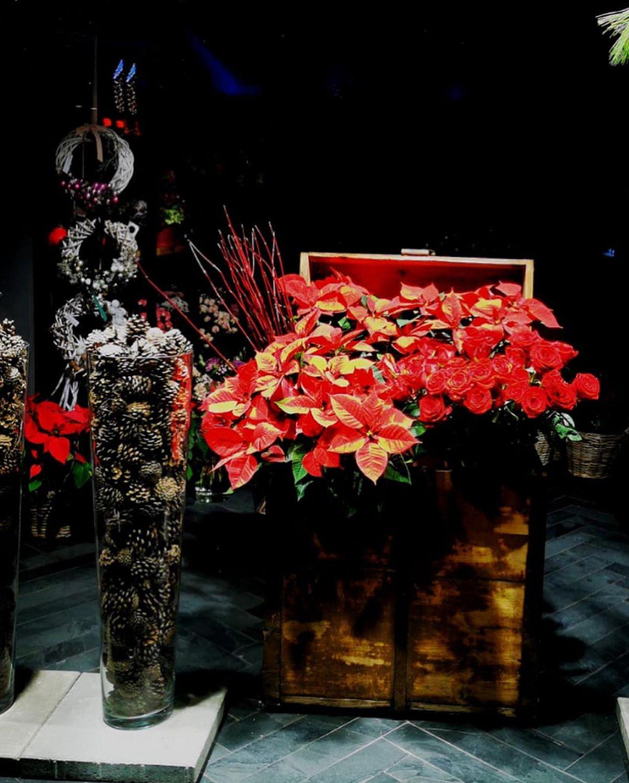 adelaparvu.com despre aranjamente si brazi Craciun, designer Nicu Bocancea, Foto Floraria Iris (2)