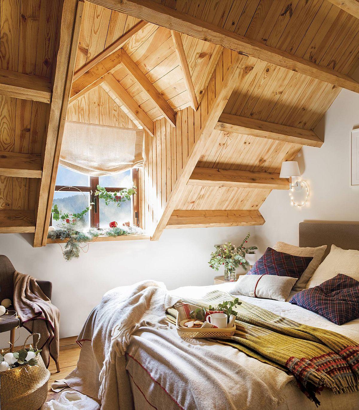 adelaparvu.com despre cabana de munte decorata de Craciun, Decor interior Barbara Aurell, Estudio en Blanco, Foto ElMueble (6)