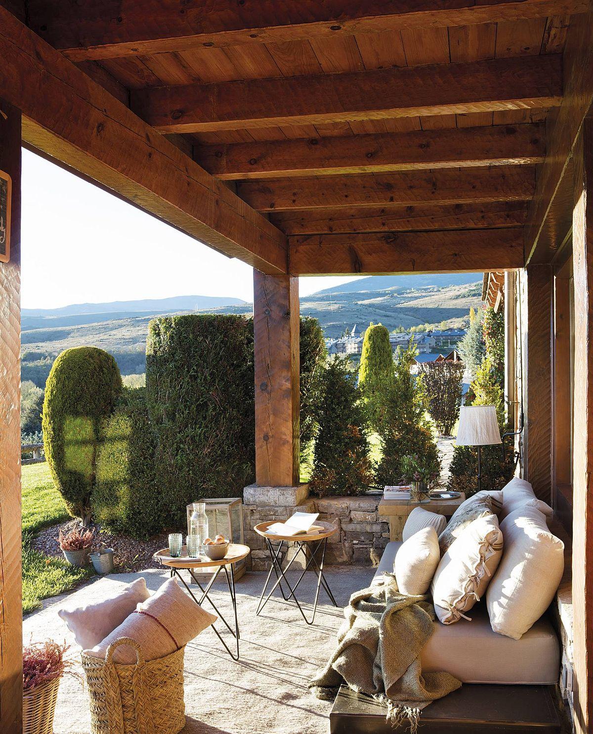 adelaparvu.com despre cabana la munte cu interior verde, design Jeanette Trensig, Foto ElMueble (10)