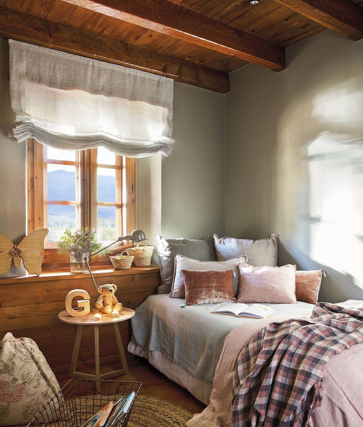 adelaparvu.com despre cabana la munte cu interior verde, design Jeanette Trensig, Foto ElMueble (11)