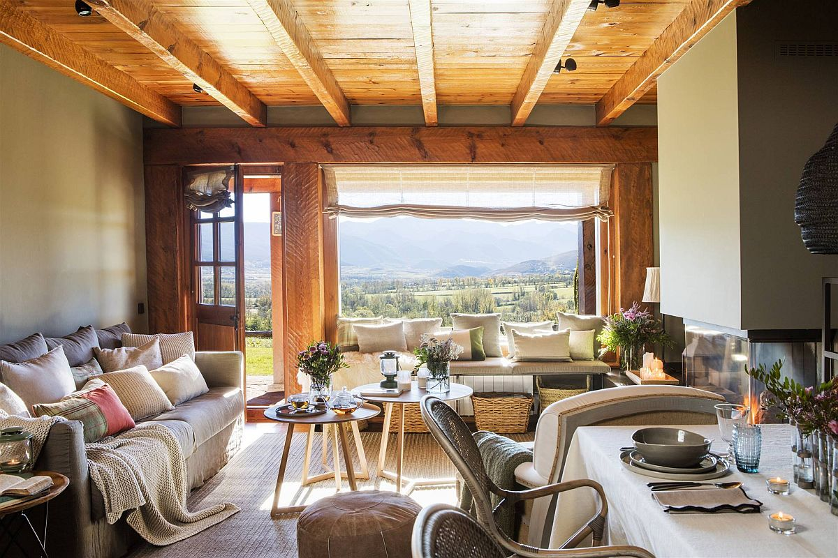 adelaparvu.com despre cabana la munte cu interior verde, design Jeanette Trensig, Foto ElMueble (13)