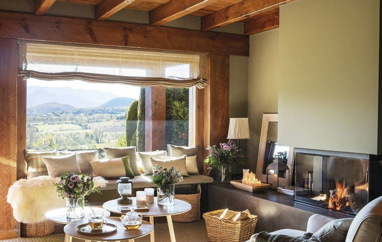 adelaparvu.com despre cabana la munte cu interior verde, design Jeanette Trensig, Foto ElMueble (19)