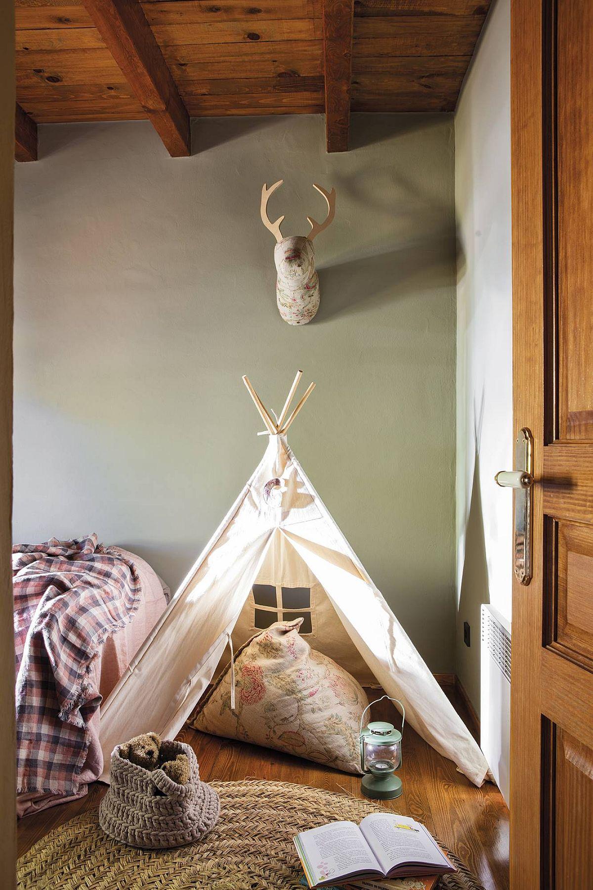adelaparvu.com despre cabana la munte cu interior verde, design Jeanette Trensig, Foto ElMueble (5)