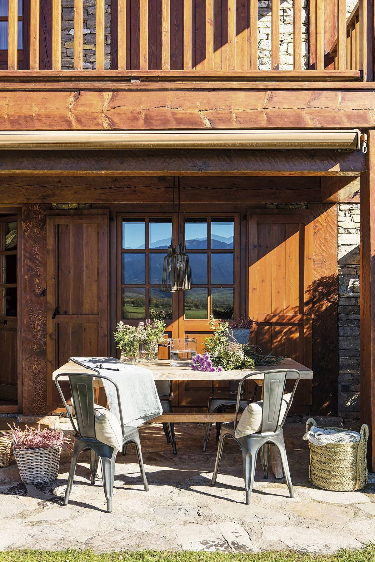 adelaparvu.com despre cabana la munte cu interior verde, design Jeanette Trensig, Foto ElMueble (6)