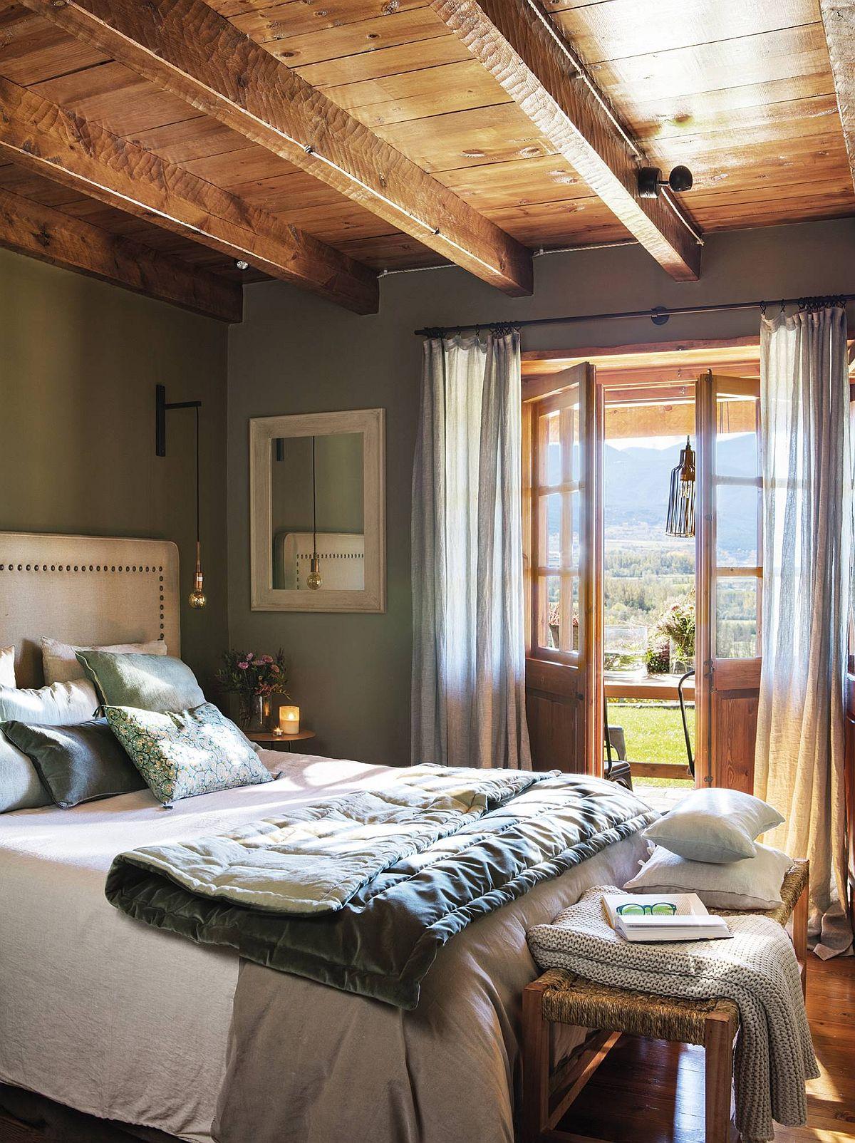 adelaparvu.com despre cabana la munte cu interior verde, design Jeanette Trensig, Foto ElMueble (8)