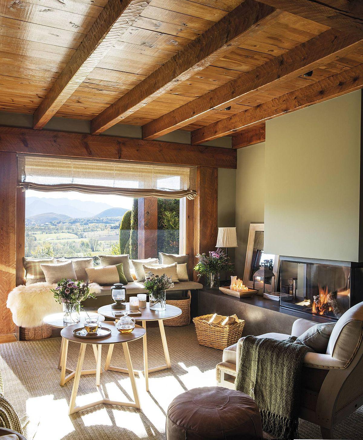 adelaparvu.com despre cabana la munte cu interior verde, design Jeanette Trensig, Foto ElMueble (9)