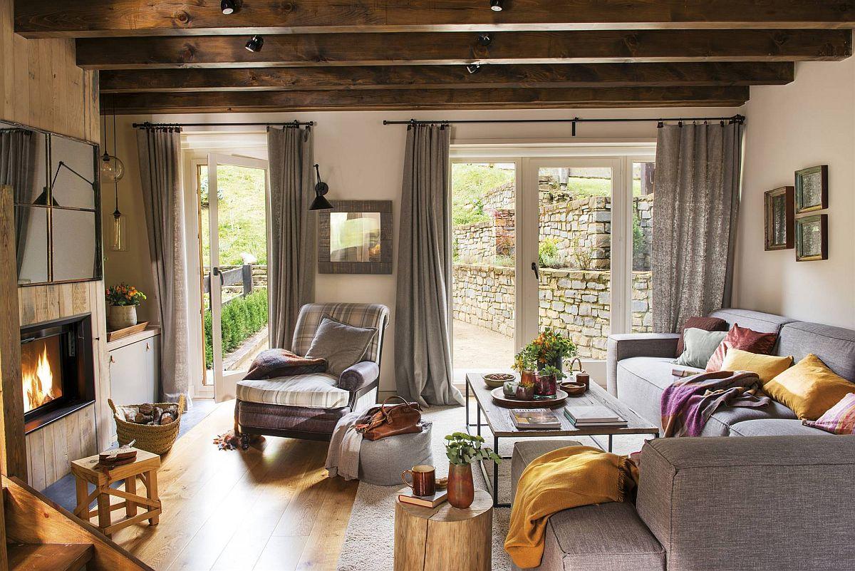 adelaparvu.com despre casa de vacanta cu lemn de castan, Pirinei, designer Juanma Alfonso, Luderna Design, Foto ElMueble (14)