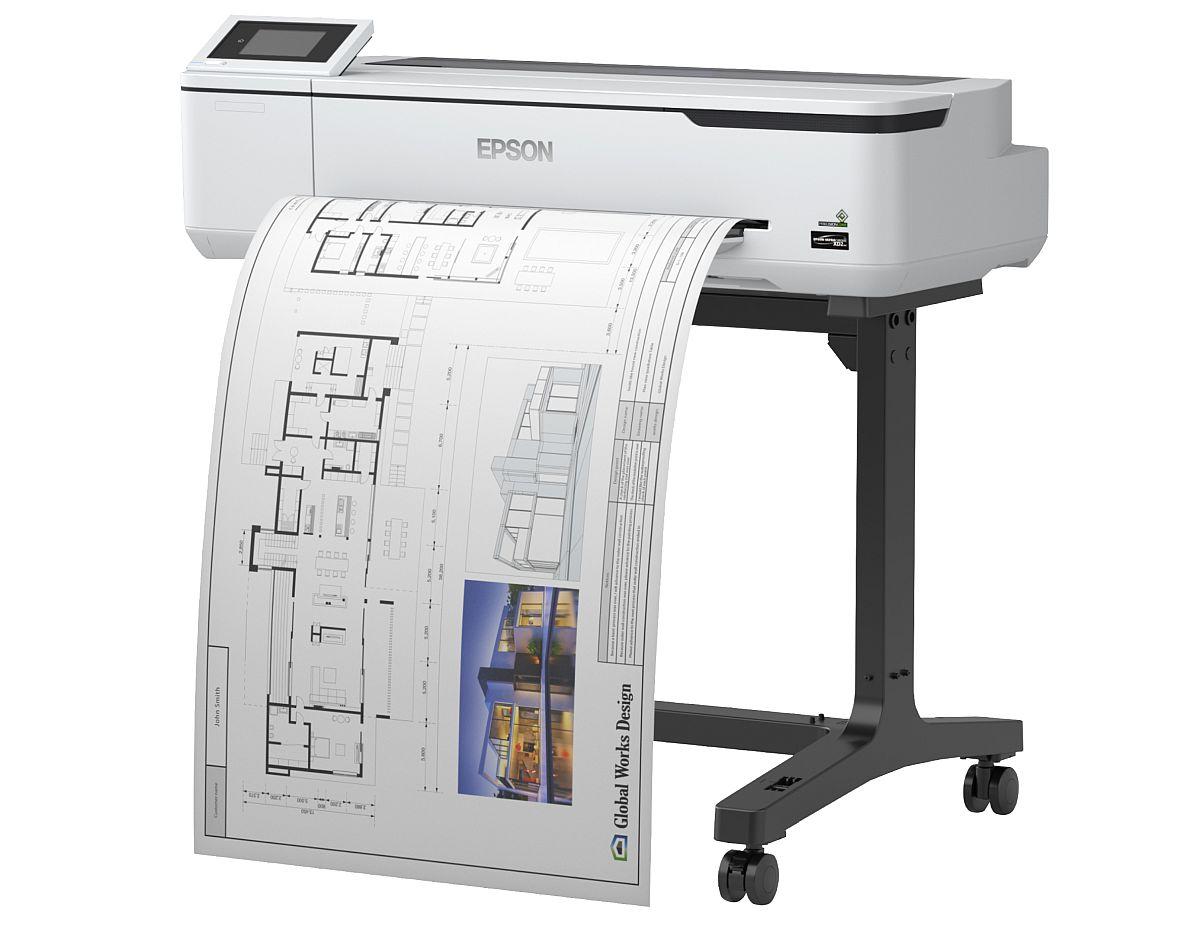 adelaparvu.com despre imprimante pentru arhitecti, designeri, ingineri, artisti, model Epson SC-T3100 (2)