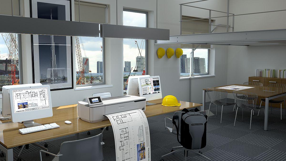 adelaparvu.com despre imprimante pentru arhitecti, designeri, ingineri, artisti, model Epson SC-T3100N (1)