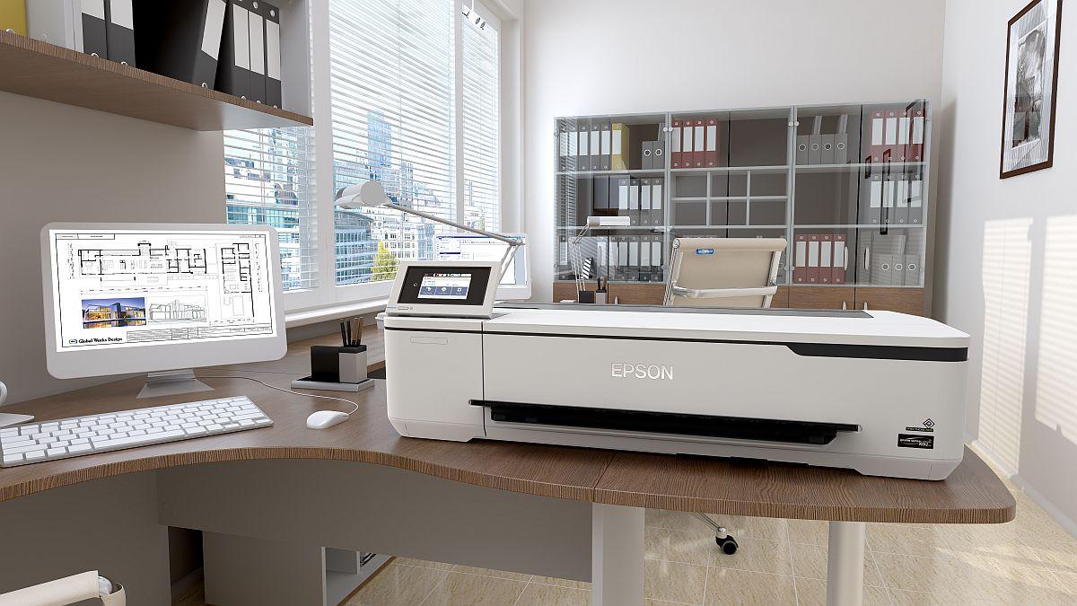 adelaparvu.com despre imprimante pentru arhitecti, designeri, ingineri, artisti, model Epson SC-T3100N (2)