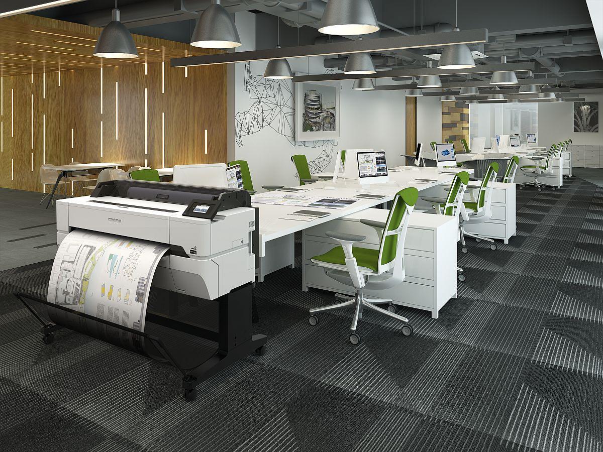 adelaparvu.com despre imprimante pentru arhitecti, designeri, ingineri, artisti, model Epson SC-T3400 (1)