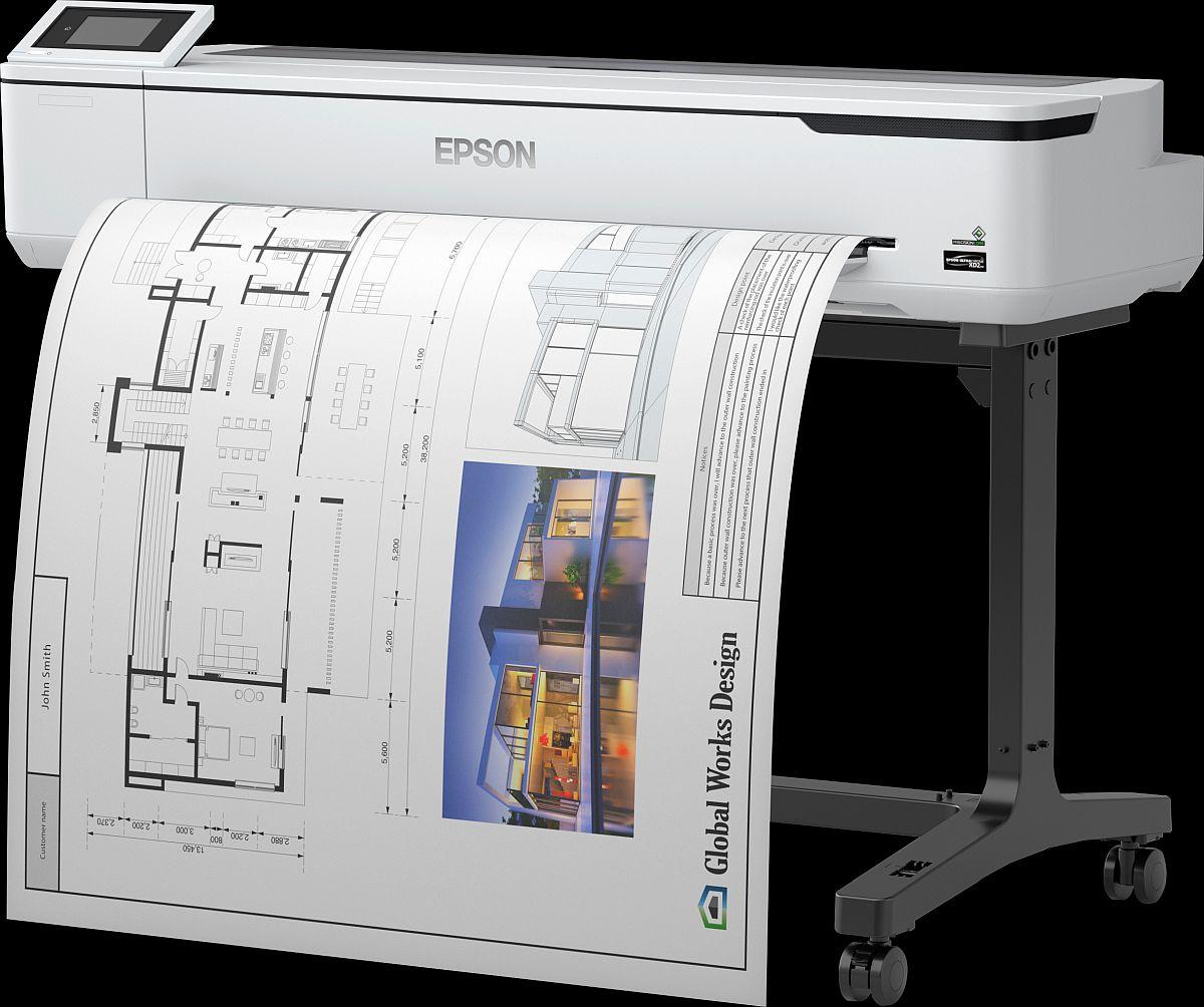 adelaparvu.com despre imprimante pentru arhitecti, designeri, ingineri, artisti, model Epson SC-T5100 2 (1)