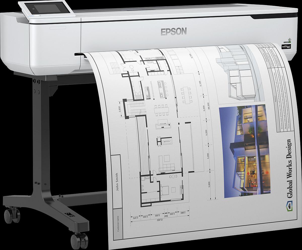 adelaparvu.com despre imprimante pentru arhitecti, designeri, ingineri, artisti, model Epson SC-T5100 2 (2)