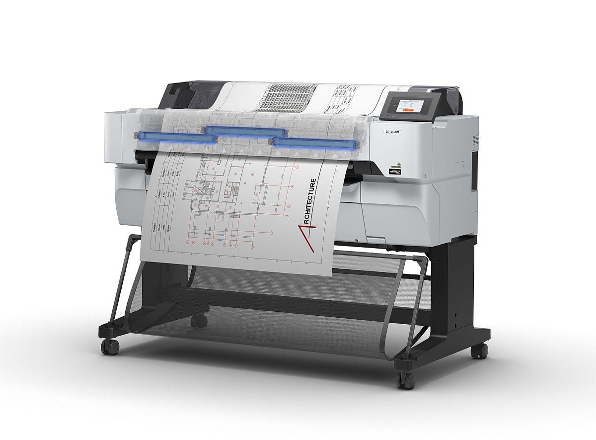 adelaparvu.com despre imprimante pentru arhitecti, designeri, ingineri, artisti, model Epson SC-T5400 (2)