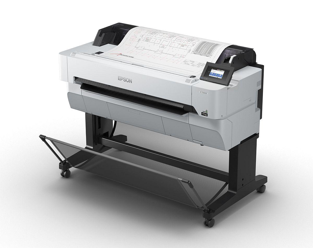 adelaparvu.com despre imprimante pentru arhitecti, designeri, ingineri, artisti, model Epson SC-T5400M (1)